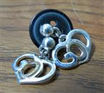 Earrings Silver Stainless 7.2dwt